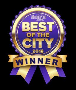 Best of Burque 2018 Winner Badge