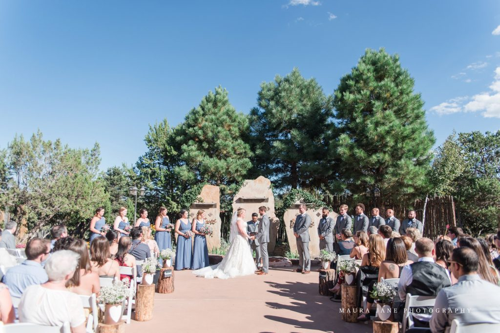 New Mexico Wedding Ceremony