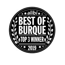 Best of Burque Top 3 Winner Badge