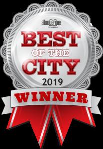 Albuquerque Best of City 2019 badge